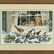 Three Bird Watchers Cross Stitch Kit additional 2