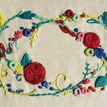 Rose Garland Embroidery Cushion Kit additional 2