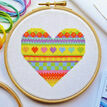 Beginners Heart - Learn How To Cross Stitch Complete Tutorial Kit additional 1