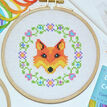 Beginners Fox - Learn How To Cross Stitch Complete Tutorial Kit additional 1