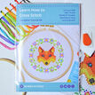 Beginners Fox - Learn How To Cross Stitch Complete Tutorial Kit additional 2