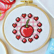 Beginners Cherry - Learn How To Cross Stitch Complete Tutorial Kit additional 5