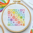 Beginners Squares - Learn How To Cross Stitch Complete Tutorial Kit additional 5
