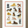 Dog Sampler Cross Stitch Kit additional 2