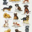 Dog Sampler Cross Stitch Kit additional 1