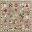Advent Calendar Cross Stitch Kit additional 1