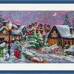 Christmas Night Cross Stitch Kit additional 2