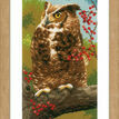 Owl In Autumn Cross Stitch Kit additional 2
