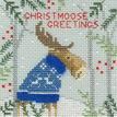 Christmas Moose, Christmas Bear and Christmas Fox Cross Stitch Christmas Card Kits (Set of 3) additional 4
