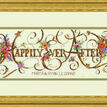 Ever After Cross Stitch Wedding Sampler Kit additional 2
