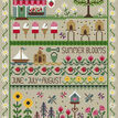 Summer Blooms Cross Stitch Kit additional 1