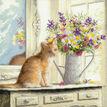 Kitten In The Window Cross Stitch Kit additional 1
