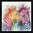 Colourful Zebras Cross Stitch Kit additional 2