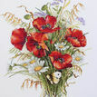 Poppies And Oats Cross Stitch Kit additional 1