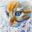 Ginger Cat Cross Stitch Kit additional 1
