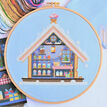 Inside The Gingerbread House Cross Stitch Kit additional 1