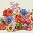 Garden Flowers Cross Stitch Kit additional 1