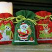 Christmas Figures Pot-Pourri Bags - Set Of 3 Cross Stitch Kits additional 2