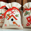 Christmas Wish Pot Pourri Bags Set of 3 Cross Stitch Kits additional 1