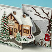 Set Of 3 De-Luxe 3D Christmas Card Cross Stitch Kits additional 2