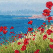 Summer, Sea, Poppies Cross Stitch Kit additional 1