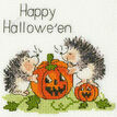 Jack O'Lantern Cross Stitch Card Kit additional 2