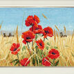 Summer, Field, Poppies Cross Stitch Kit additional 2