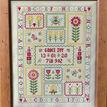 Bee Birth Sampler Cross Stitch Kit additional 2