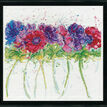 Modern Anemones Cross Stitch Kit additional 2