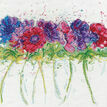 Modern Anemones Cross Stitch Kit additional 1