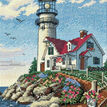 Beacon At Rocky Point Cross Stitch Kit additional 1