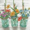 Flowering Jars Cross Stitch Kit additional 1