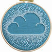 Beaded Cloud Hoop Embroidery Kit additional 1
