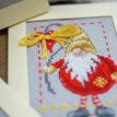 Christmas Gnomes 2 Cross Stitch Christmas Card Kits (Set of 3) additional 3