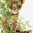 Little Panther Cross Stitch Kit additional 1