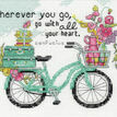 Wherever You Go Cross Stitch Kit additional 1
