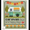 Caravan Days Cross Stitch Kit additional 1