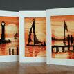 Sunset Cross Stitch Card Kits Set of 3 additional 1