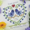 Bluebell Heart Wedding Sampler Cross Stitch Kit additional 2