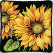 Dramatic Sunflower Tapestry Kit additional 3