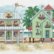 Seaside Cottages Cross Stitch Kit additional 1