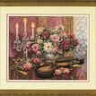 Romantic Floral Cross Stitch Kit additional 2