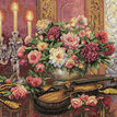 Romantic Floral Cross Stitch Kit additional 1
