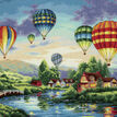 Balloon Glow Cross Stitch Kit additional 1