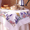 Spring Flowers Embroidery Tablecloth Kit additional 3