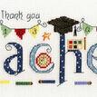 Thank You Teacher Cross Stitch Kit additional 4