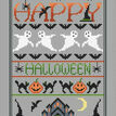Happy Halloween Cross Stitch Kit additional 1