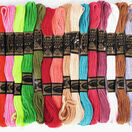 Embroidery Floss - Bright Colours (36 skeins) additional 2