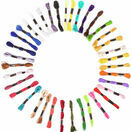 Embroidery Floss - Bright Colours (36 skeins) additional 1