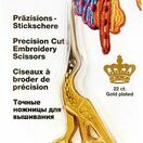 Gold Plated Stork Embroidery Scissors additional 1